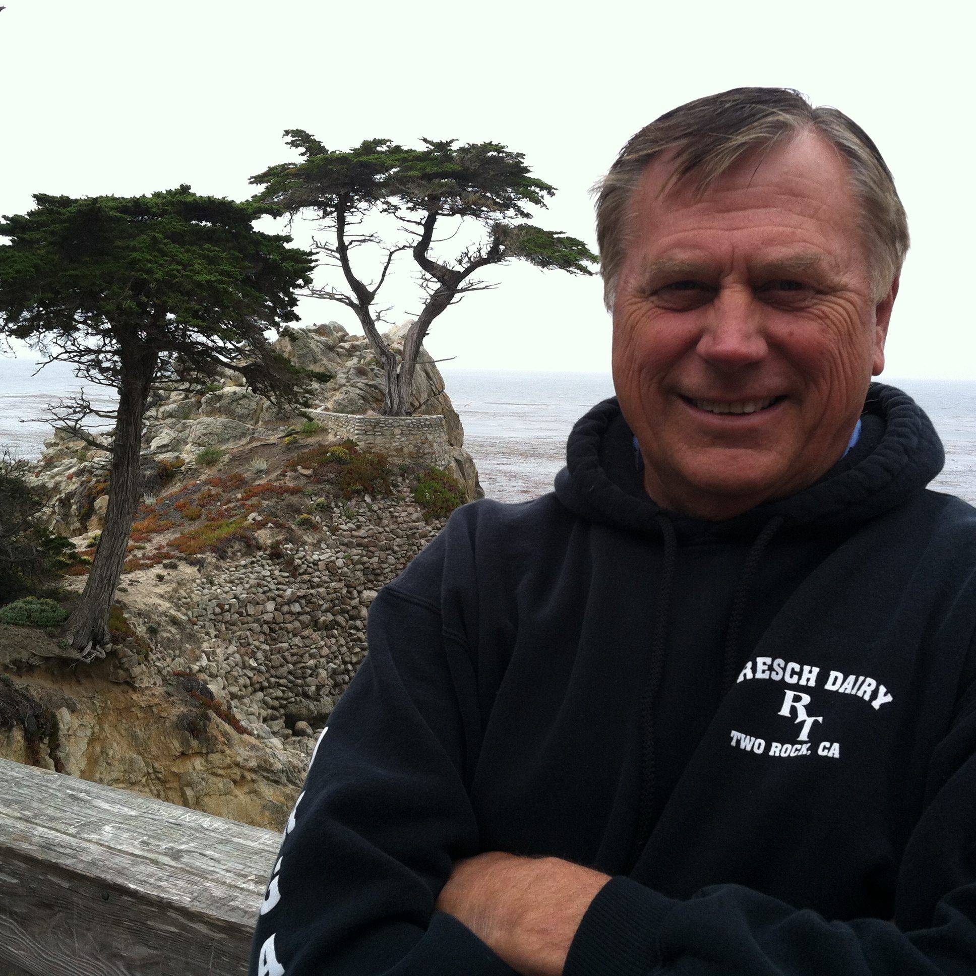 Bill Graves at the California coast